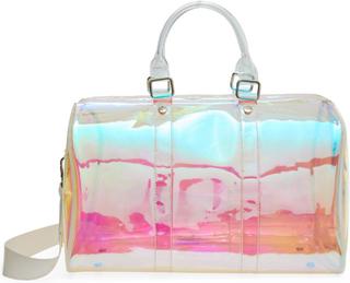 Steve Madden transparent taske med to hanke