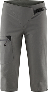 Klättermusen Misty Knickers Women rock grey XS 2017 Softshell Shorts