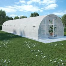vidaXL drivhus 36 m² 1200x300x200 cm