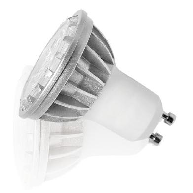 LED lamppu OSRAM GU10 3,6W 230 lm, himmennettävä, 3000K lämmin valkoinen