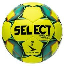 Select Fotball Brillant Replica V20 3F Superliga - Gul/Grønn