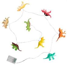 Lyskæde til børn med dinosaurer - 10 LED lamper - Petite Nuit - Længde 200 cm.