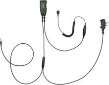 Icom PRO-U700LS Kombiheadset för iPhone och Peltor med PTT