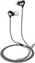 Celly Headset Dual Driver In-ear Hörlurar Svart