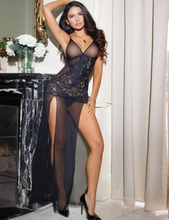 Lace Elegant Long Babydoll