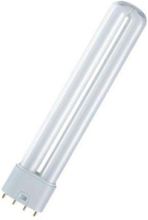Non-integrated compact fluorescent light bulb with reflector DULUX L LUMILUX 2G11