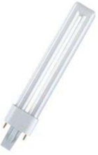 Non-integrated compact fluorescent light bulb with reflector Dulux-s 11w/840 g23 G23