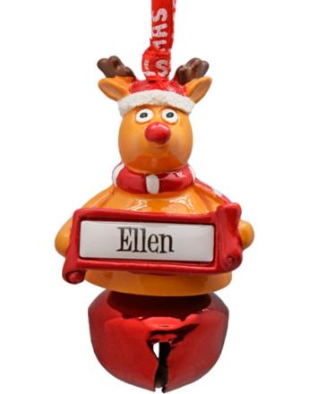 Jingle Bell Ellen - Juledekorasjon 7 cm
