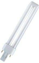 Non-integrated compact fluorescent light bulb with reflector DULUX S - ej inbyggt kompakt lysrör G23