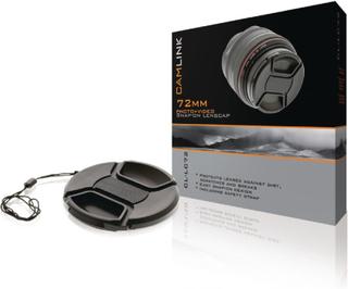 CamLink Objektivlock / Linsskydd 72 mm