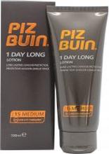 Piz Buin 1 Day Long Lotion 100ml SPF 15 - Solkräm