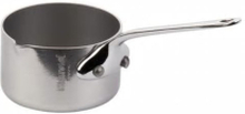 Mauviel Cook Style kastrull med pip mini stål - 5 cl