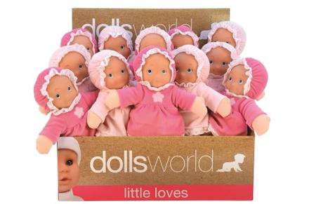 Dolls world - Min første dukke 25cm