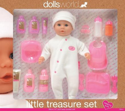 Dolls world - Myk dukke m/utstyr