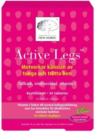 New Nordic Active Legs 30 tabletter
