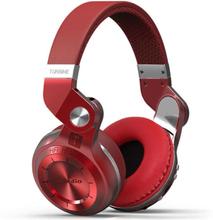 Bluedio T2+ Trådlös Bluetooth Stereo hörlurar / headset - Röd