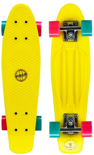 Nijdam - Skateboard: Nijdam - Gul