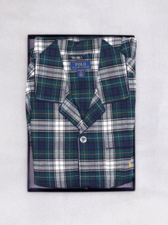 Polo Ralph Lauren L/S Pj Sleep-Set Nattøy Plaid