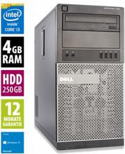 Dell OptiPlex 790 MT - Core i3-2120 @ 3,3 GHz - 4GB RAM - 250GB HDD - DVD-ROM - Win10Home