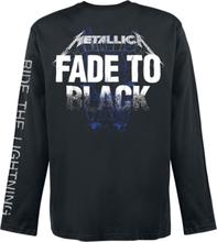 Metallica - Fade -Langermet skjorte - svart