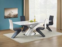 Bonita matbord 160-220 cm - Vit högglans