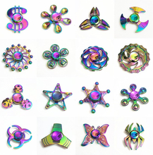 dollars usd colorful Fidget Spinner EDC Hand Spinners Autism ADHD Kids Christmas Gifts Metal Finger Toys Spinners