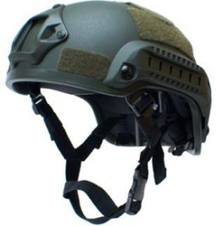 Mich 2001, taktisk hjelm - Grønn