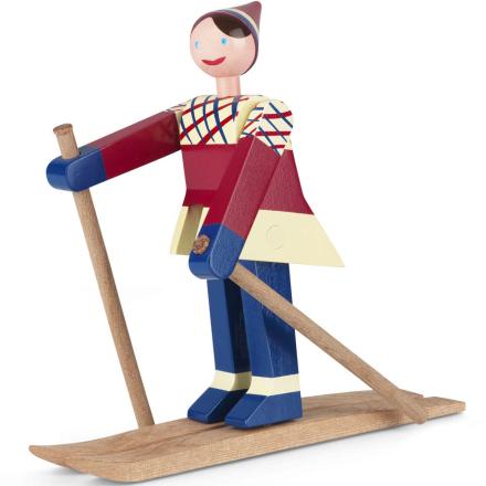 Kay Bojesen skiløper datti jente