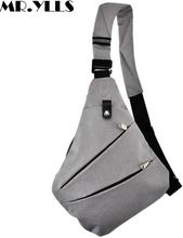 MR.YLLS Waterproof Shoulder Bags Men Business Style Chest Bag Male Nylon Messenger Bags Man Fashion Crossbody Bag Men Bolsa 2019