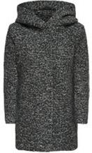ONLY Woll- Mantel Damen Grau