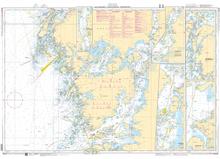 Sjökort 932 Poster, Marstrand, Tjörn, Orust & Gullholmen