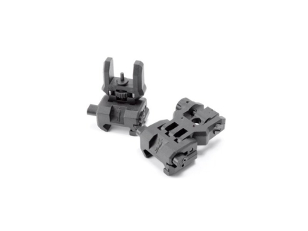 Front and Rear Flip-Up Sikte - CAA - Black