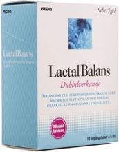 Lactal Balans: Dubbelverkande, Engångstuber, 10 x 5 ml