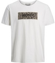 JACK & JONES Djurmönstrad T-shirt Man White