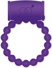 Casual Love Vibrating Cock Ring Purple Penisrengas vibraattorilla