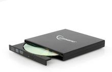 Gembird Extern USB CD/DVD brännare - Svart