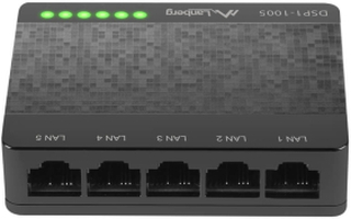Lanberg DSP1-1005 Switch 5-portar 100/1000 Mbps