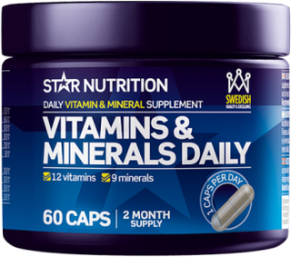 Vitamins & Minerals Daily, 60 caps