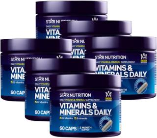 Vitamins & Minerals Daily, Flerpack, 360 caps