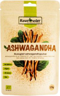 Ashwagandha, Ekologiskt Ashwagandhapulver, 125 g