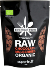 Raw Chocolate Mulberries, 100 g