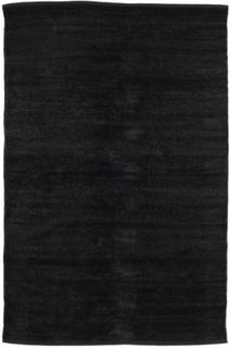 Kelim Chenille - Karbonsvart teppe 120x180 Moderne Teppe