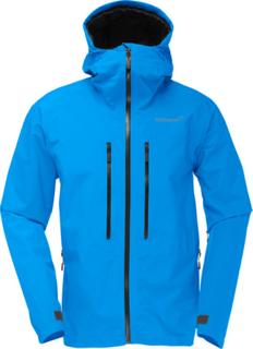 Norrøna Trollveggen Gore-Tex Light Pro Jacket Herre signal blue M 2019 Skalljakker