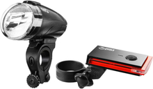 Red Cycling Products Bike Eye LED Lighting Set black 2020 Batteridrivna lampset