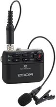 Zoom F2 Ljudinspelare med mygga
