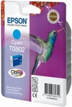 T0802 originalblekk cyan Epson