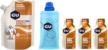 GU Energy Gel Bundle Bulk Pack 480g + Gel 3x32g + Flask Salted Caramel 2020 Näringstillskott & Paket