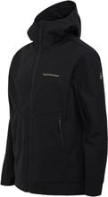 Adventure Hood Jacket Musta S