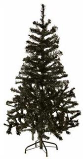 Kunstigt juletræ - Højde 180cm - Med fod - Plastik juletræ