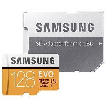 Samsung Evo MicroSDXC Hukommelseskort MB-MP128GA/EU - 128GB